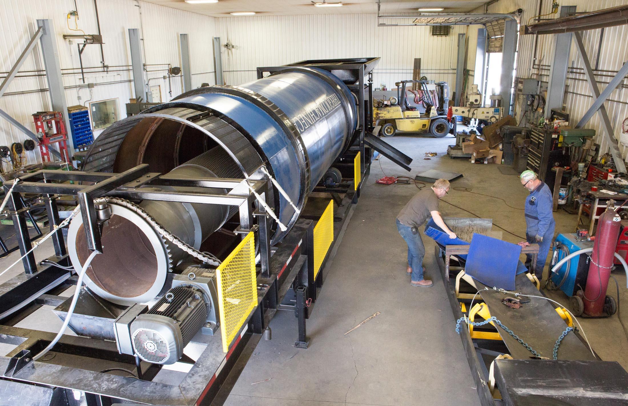 The Gold Machine Fabrication Shop